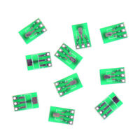 10pcs Double-Side SMD SOT223 to DIP SIP3 Adapter PCB Board DIY Converter JB