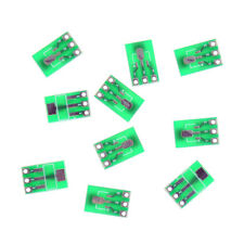 10pcs Double-Side SMD SOT223 to DIP SIP3 Adapter PCB Board DIY ConverteFLA