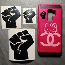 """1"""" 2"""" 3"""" 4"""" Black Lives Matter Mini Fist BLM Decal Sticker Airpod IPhone Ipad"""