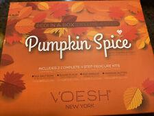 Voesh New York Pedicure In A Box Duo Pumpkin Spice