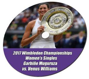 2017 Wimbledon Championships  Women's Singles Garbiñe Muguruza vs Venus Williams