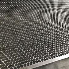 Stahl Hexagonal Lochblech Streckgitter   1,5mm HV6-6,7 200 mm x 200mm Neu Gitter