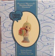 Nib Precious Moments Sisters Are Precious Gifts Porcelain Bisque Ornament 810027