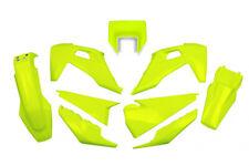 Husqvarna TE TX 125 250 300 2020 - 2021  UFO Enduro Plastic Kit Neon Yellow