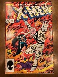 Marvel Comics Uncanny X-Men Issue #184-185 (1984) Excellent Copies