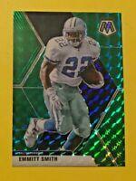 2020 Panini Mosaic Emmitt Smith Green Prizm #64 Dallas Cowboys NFL