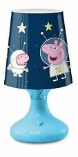 Peppa Pig and George Mini LED Bedroom Night Light Blue - Home Collection