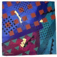 "Frank Rowland Mixed Collage Media Art 24"" x 24"" Signed Original Artwork Lot #5"