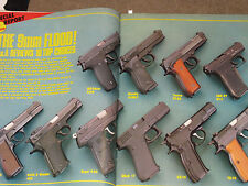 GUNS & AMMO TEST BSA AIR RIFLES, SUPER ELITE 1911, 9MM PISTOLS