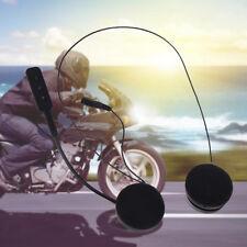 Hot Durable Helmet Headset Speakers Mic Bluetooth Handsfree Music Call Control