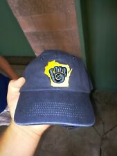 Milwaukee Brewers Strapback Hat 8/9/19 SGA