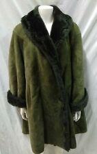 shearling donna montone taglia 5254 cappotto pelle scamosciata