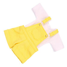 "Takara 12"" Blythe Doll Lovely Outfits -T - shirt + Yellow Suspender Trousers"
