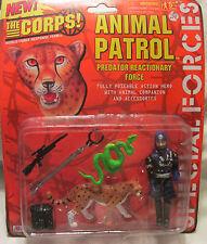 Raro 1997 Lanard The Corps Animal Patrol Predator reactionary force-tiger