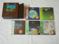 Yes JAPAN 5 titles Mini LP SHM-CD PROMO Yessongs BOX SET