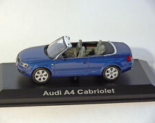 AUDI A4 Convertible, azul, 1:43 , NOREV
