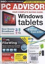 PC Advisor magazine Windows tablet guide Best mobile broadband Wireless speakers