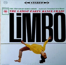 TRINIDAD SERENADERS - LATEST PARTY DANCE CRAZE LIMBO - COLUMBIA - STEREO LP