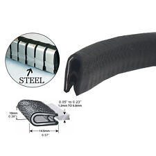 Pinchweld Metal Clips Rubber Seal Trim Auto Van Caravan Sharp Edge Protectors 4M