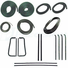60-63 Chevy C10 Truck Complete Rubber Kit - Door Gaskets, Glass Weatherstrip