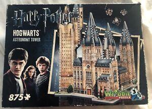 Harry Potter Hogwarts Astronomy Tower Puzz-3D 875 Piece Wrebbit 3D Puzzle