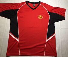 MANCHESTER UNITED Official RHINOX License Futbol Soccer Jersey Men's XL
