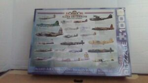 Allied Air Command World War II Bombers Aircraft 1000 pc Puzzle New Sealed