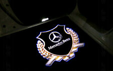 For Mercedes W204 C-Class 2008-2013 Glod Logo LED Door welcome Projector Light