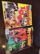 A 2 Pack Of The Wrestler The Year In Pictures 1993 And 1994 WWE wwf