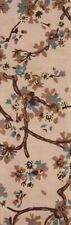 "Nature Print Tropical Oushak Oriental Hand-Tufted Wool Runner Rug 7' 10"" x 2' 7"""