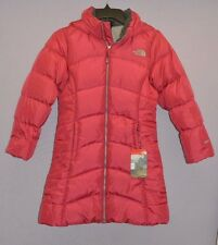 The North Face Girls Elisa Down Parka Cabaret Pink Water Repellent M 10-12 New