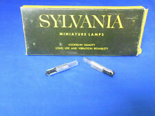 60A SYLVANIA INCANDESCENT LAMP 6V / 2.700W  .045AMP  10 PC LOT    NEW OLD STOCK