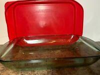 "Anchor Hocking Clear 3 QT Casserole Baking Dish - 9"" x 13"""