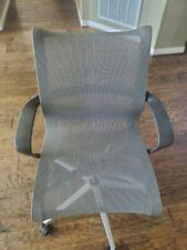 Herman Miller Setu Grey Office Desk Mesh Chair