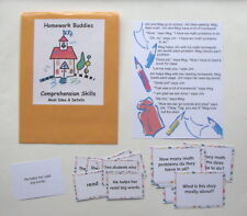 Teacher Made Literacy Center Comprehension Resource Game Main Idea & Details