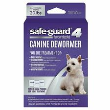 8IN1 SAFEGUARD DEWORMER MEDIUM DOG WORMER WORM 6 WEEK OLD+ FREE SHIP IN THE USA
