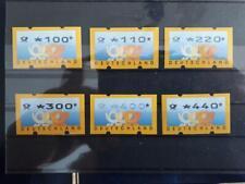 ATM Deutschland, Michel 3.2, VS1 xx, alle mit Zählnummer