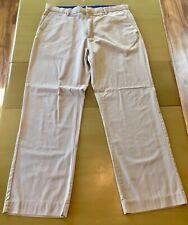 Banana Republic Mens Khaki Dress Pants Size 36x32 EUC
