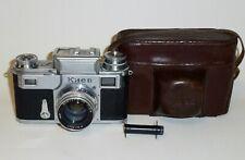 Rare KIEV-3 Soviet Russian Contax copy camera 35mm Arsenal Manual #546299