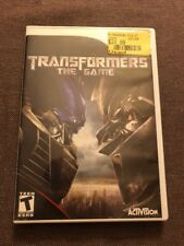 Wii Transformers The Game With Booklet