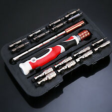 Mechanics Screwdriver Tool Kit Set 19 Pc Precision Phillips Torx Pozi Slotted