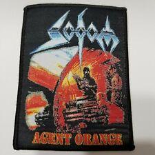 Sodom agent orange  WOVEN PATCH