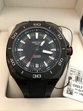 Certina DS Eagle Precidrive Swiss Sports Watch Black New