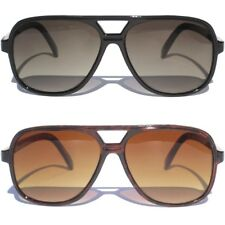AVIATOR SUNGLASSES HIPSTER RETRO Classic 70's Vintage Style Gradient Lens