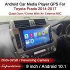 "9"" Android 10.1 Car Stereo Media Player GPS Head Unit For Toyota Prado 2014-2017"