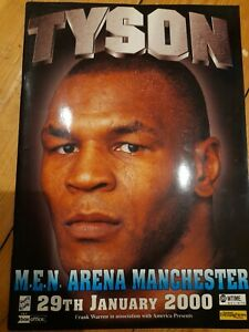 Mike Tyson vs Julius Francis (Boxing Programme, Manchester 29/01/2000)