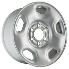03557 Refinished Ford F150 Truck 2004-2008 17 inch Silver Steel Wheel, Rim