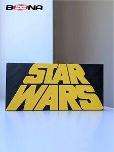 STAR WARS self standing logo display (original movie vintage 1977 design)