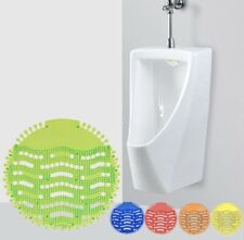 More details for urinal strainer, urinal screen, splash mats,urinal deodoriser16pcsmixcolours