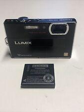 Panasonic LUMIX DMC-FP8 12.1MP Digital Camera - Black